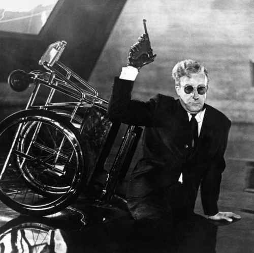 Peter Sellers As Dr Strangelove In Dr Strangelove Or: Some Things Just Seem Alike
